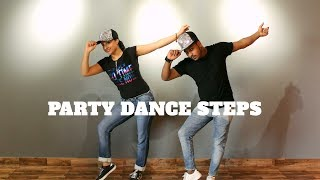 PARTY DANCE STEPS | BASIC AND EASY STEPS | WEDDING DANCE TUTORIAL |