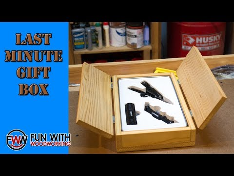 Project - Building a last minute gift box
