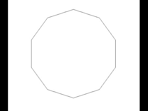 How to draw a Decagon on MSW Logo