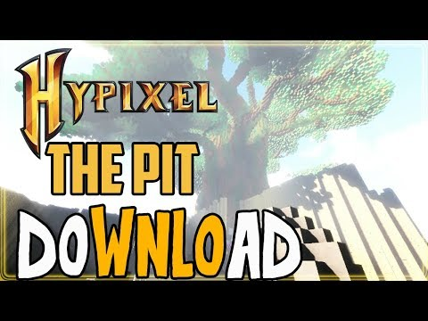 Minecraft PC/PE/Xbox 360/Xbox One/PS3/PS4/Wii U/Switch Hypixel The Pit Map Download