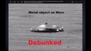 Metal object on Mars DE-BUNKED, United Family of Anomaly Hunters