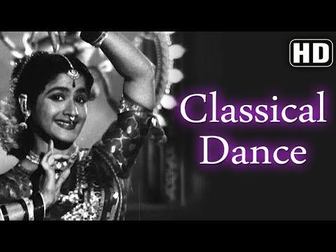 Classical Dance & Vocal (HD) - Chori Chori (1956) - Kamala Lakshman - Pran - Best of 50's Song