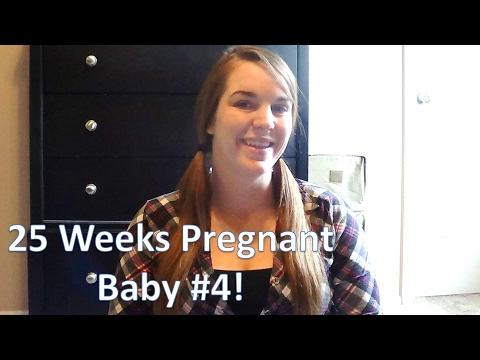 25 WEEKS PREGNANT WITH BABY #4! [How I'm Feeling, New Midwife & Home Birth Plans!]