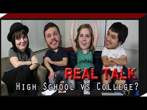 REAL TALK: High School vs College
