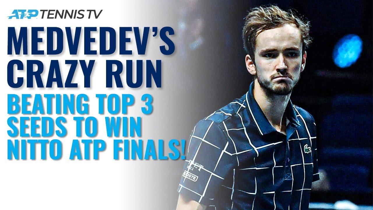 Daniil Medvedev's CRAZY Run Beating Top 3 To Win 2020 Nitto ATP Finals!