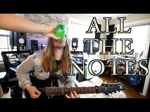 The Longest Guitar Run EVER!!