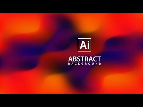 Illustrator Tutorial - Abstract Vector Background