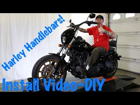 Install Handlebars on Harley Dyna, Softail, or Sportster-T-Bars | Extend Wires & Cables