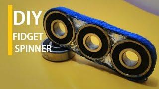 Make your own fidget spinner-DIY(super easy)