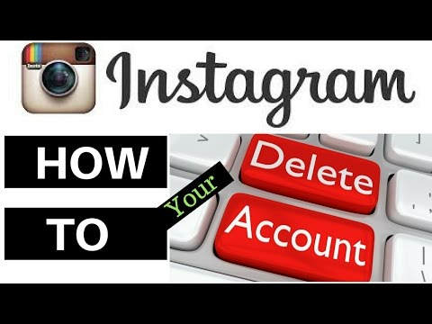 How To Delete Your Instagram Account Permanently 2017