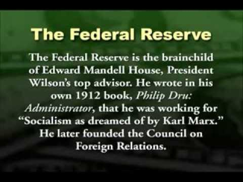 Federal Reserve: Socialism As Dreamed of by Karl Marx