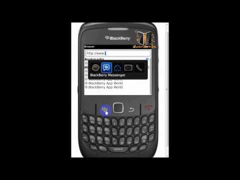 شرح إعدادات المتصفح / Configure Blackberry Browser