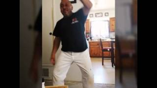 Teaching my Dad how to Whip & Nae Nae