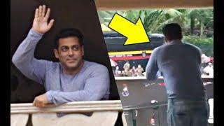 Inside Footage! Salman Khan Wishing His Fans Eid Mubarak!