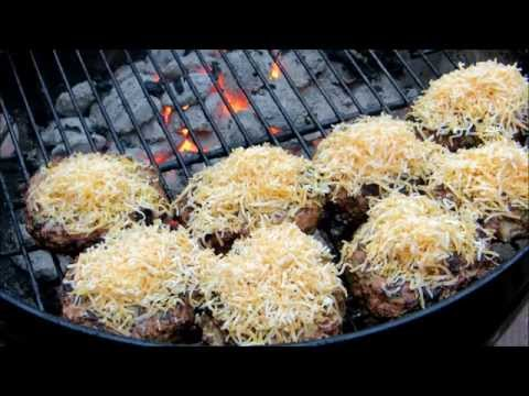 Chicken Burgers - How to grill Chicken Burgers - Fajita Burgers