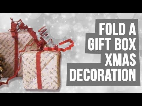 DIY Gift Box Decoration or Ornament