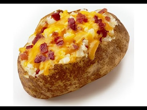 How To Make A Baked Potato In The Microwave!