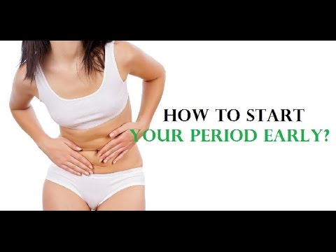 How to Start Your Period Early | Period A Week Early