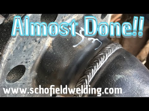 Last tie in weld for the compressor.