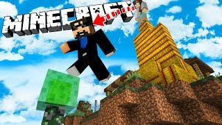 MINECRAFT PARKOUR WITH MY WIFE AND SON!!