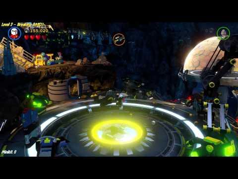 Lego Batman 3 Beyond Gotham: Lvl 2 Breaking BATS! FREE PLAY (All Collectibles) - (HTG)