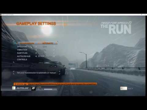 How To Change Speedometer KPH to MPH In NFS The Run