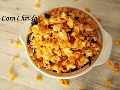 Cornflakes Chivda | Cornflakes mixture recipe