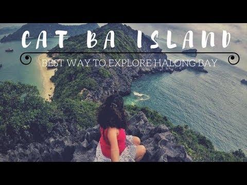 CAT BA ISLAND| MOST ECONOMICAL WAY TO EXPLORE HALONG BAY