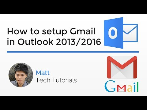 How to Properly Setup/Configure Gmail in Outlook 2013/2016
