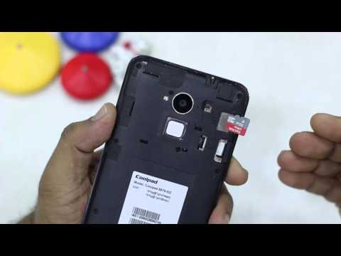 How to insert SIM card & microSD card in Coolpad Note 3