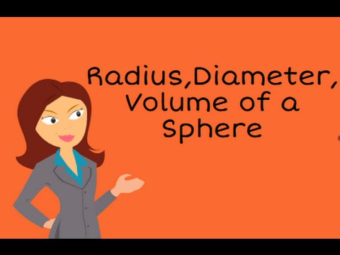 Calculate the volume,radius,and diameter of a sphere given the area-Geometry Help