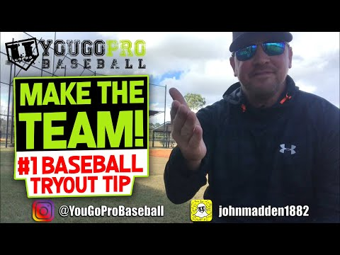 DOMINATE Your Baseball Tryout & MAKE THE TEAM with this Amazing Tryout Tip!