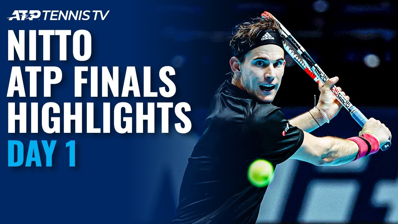Thiem vs Tsitsipas; Nadal vs Rublev | Nitto ATP Finals 2020 Day 1 Highlights