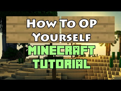 How to OP Yourself on Your Minecraft Server