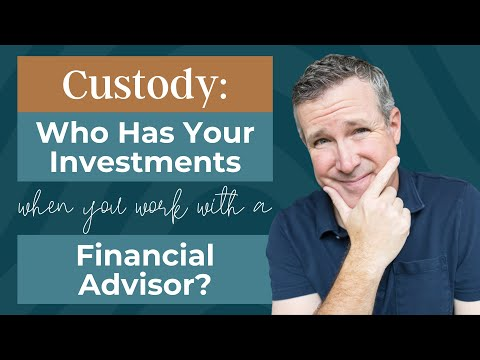 Who Has Your Money?  Where Does Your Money Go When You Work With A Financial Advisor?