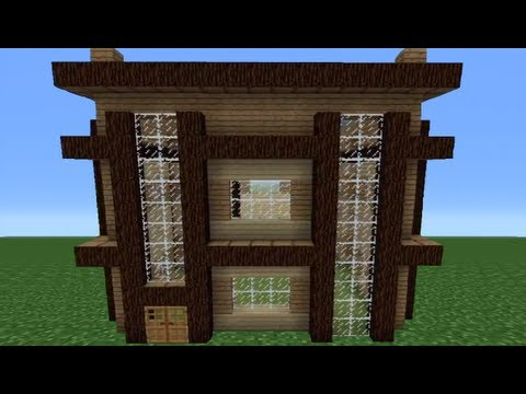 Minecraft 360: How To Build A Cube House - House Number 2