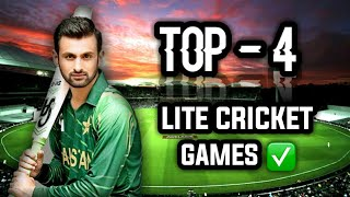 Top 5 cricket games for android in 2019 1gb and 2gb phone HD