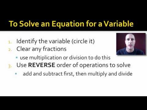 Conversions and Math Skills