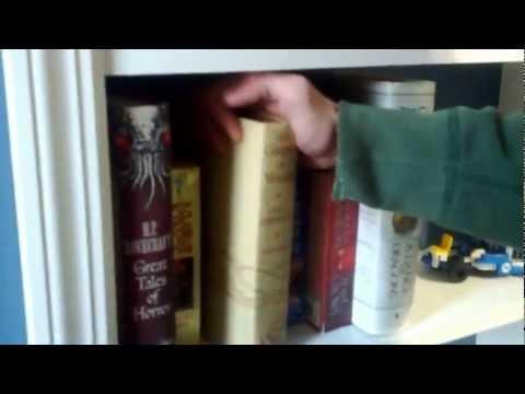 Secret (now not so secret) bookcase