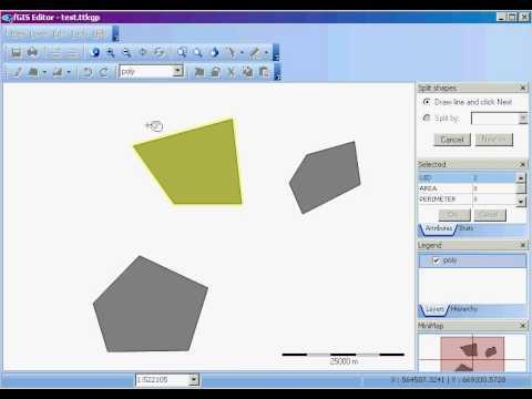 fGIS: Split Shapes