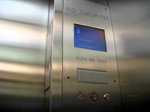 Kone Hydraulic Elevators At Newark Liberty EWR Airport