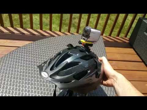 Bike Helmet Mount for Sony Action Cam (HDR) and Go Pro