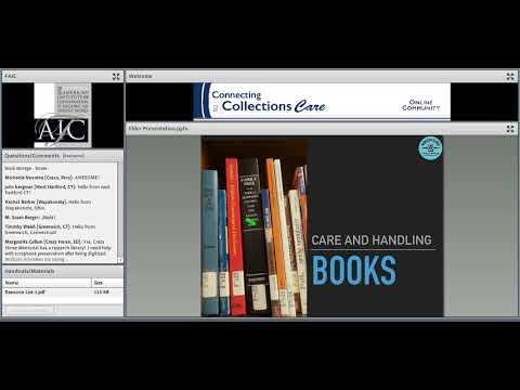 C2CC Care of Books and Scrapbooks