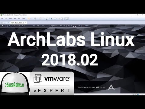 How to Install ArchLabs Linux 2018.02 + VMware Tools + Review on VMware Workstation [2018]