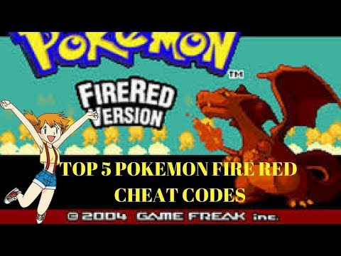 My TOP 5 POKEMON FIRERED//LEAFGREEN CHEATCODES // Cheat Code Compilation 🎮