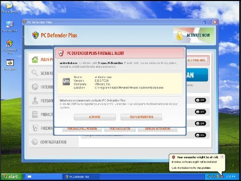 How Can I Get Rid of PC Defender Plus Firewall Alert Malware?