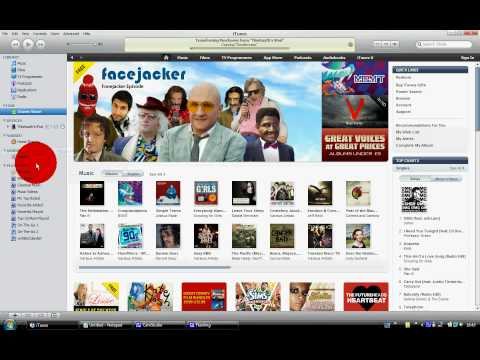 How to transfer apps from your IPOD  to ITUNES