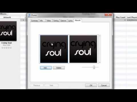 How to Make a Custom iTunes Album Cover using GIMP