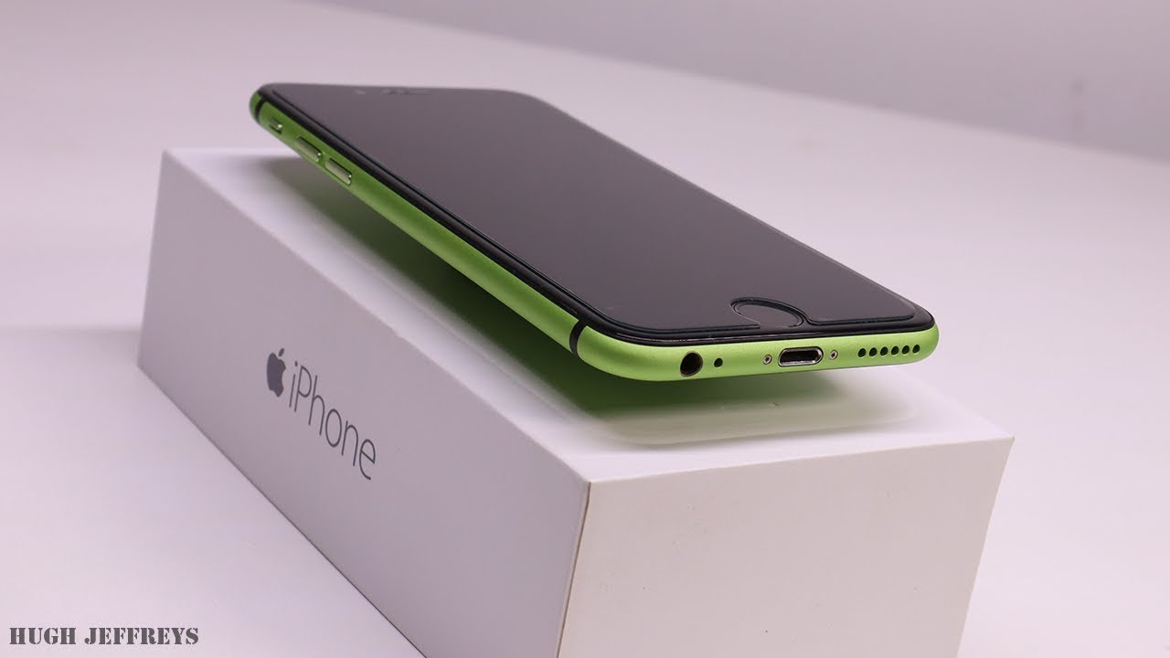 Custom Green iPhone 6 Build