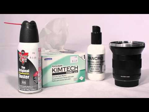 How to clean your lenses: Wide Open Camera Style